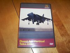 QUEST FOR VERTICAL TAKE-OFF VTOL Aircraft Warplanes Jets History Channel DVD NEW