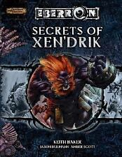 Dungeons and Dragons Eberron Supplement: Secrets of Xen'drik by Keith Baker, Ja…
