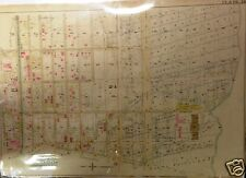 1898 CROWN HEIGHTS, BROOKLYN, NEW YORK HOPKINS ATLAS MAP, 22X30