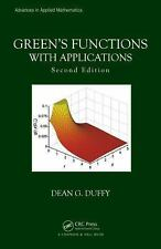 Green's Functions with Applications, Second Edition by Dean G. Duffy (2015,...