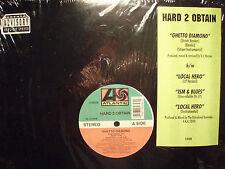 "HARD 2 OBTAIN - GHETTO DIAMOND / LOCAL HERO / ISM & BLUES (12"") 1994!!  RARE!! ♫"