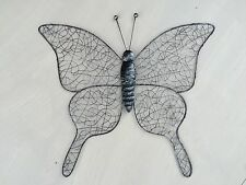 Large Metal Wire Butterfly Wall Art Decor Home/Conservatory Fence 53cm