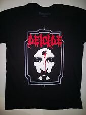 DEICIDE Large T-Shirt Cannibal Corpse Vital Remains Suffocation Morbid Angel