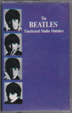 Beatles Unreleased Studio Outtakes Cassette Saudi Arabia Mint