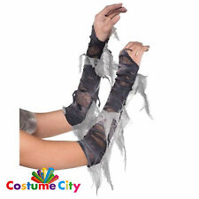 Adults Zombie Ghost Arm Warmers Halloween Fancy Dress Costume Accessory