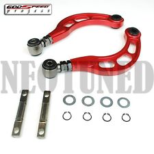 GODSPEED GSP GEN2 2006-2015 CIVIC ALL REAR ADJUSTABLE CAMBER ARM KIT RED FA FG