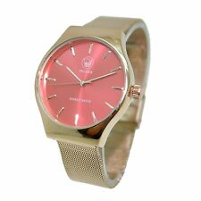 Energetix 4you 2577 Armbanduhr Sunray Energy Watch Boulevard Pantone rot pink