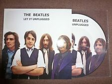 "33T.10"".THE BEATLES.LET IT BE.UNPLUGGED.11 TITRES.PRESS USA..LIMITEE 500 COPIES"