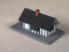 Z Scale Small Country Train Station