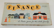 Vintage Parker Brothers Finance Board Game 1958 Business Trading Game Family