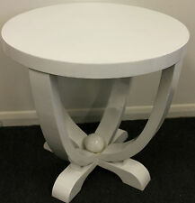 antique art deco style furniture white round occasional coffee table c223 art deco style furniture occasional coffee