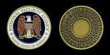Challenge Coin - US National Security Agency NSA - Fort Meade