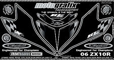 Kawasaki Ninja ZX10R 06 - 07 Number Board Numberboard Motografix Gel Protector