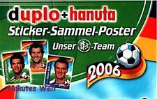 FERRERO - WM - 2006  - Sammelposter - leer