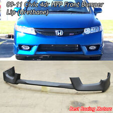 HFP Style Front Lip (Urethane) Fits 09-11 Honda Civic 4dr