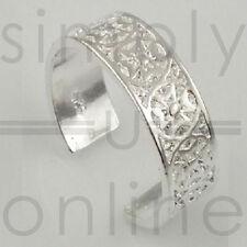 925 Sterling Silver Toe Ring - Maltese Cross