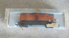 Vintage N Scale Atlas Shell 3 Dome Tank Car in Box 2291