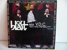 "MAXI 12"" BLAST feat VDC Sex and infidelity FTR 3998 6"