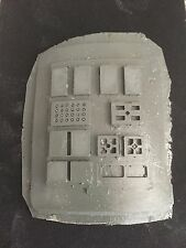 X-wing / Tie Pilot Commpad Armour Fibreglass Kit (curved)
