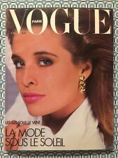 VOGUE PARIS French n°666 Mai 1986 Jerry Hall Ralph Lauren Mode sous le Soleil
