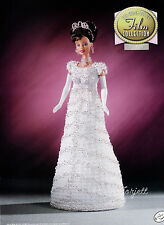 My Fair Lady, Annie's Golden Age of Film Collection crochet patterns fit Barbie