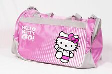 Sanrio Hello Kitty Pink Gym Travel Luggage Duffle Durable Lightweight Bag