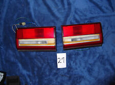 87 88 89 90 91 Toyota COROLLA Trunk LID Tail Lights TAILLIGHTS Pair NICE OEM !!!