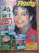 POP ROCKY 12 - 1989 Michael Jackson Sophie Marceau Madonna Bros Cult Deacon Blue