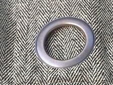 1 Pair (42X84 ea panel) Bombay 100%  SILK HOUNDSTOOTH GROMMET Drapes Curtain NWT