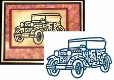 Antique CAR die - Tattered Lace metal cutting dies D117 All Occasion,vehicle