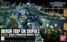 BANDAI HGUC 1/144 RGM-79SP GM SNIPER II Plastic Model Kit Gundam 0080 from Japan