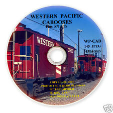 WP SN TS  Western Pacific Railroad  Caboose  Slides on Photo CD  BN  UP  DRGW
