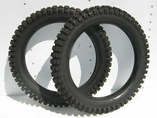 2 BARUM 3.50-18  NOS TIRES KNOBBY REAR CZ CR MX YZ RM AHRMA MOTOCROSS VINTAGE