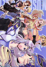 Final Fantasy Dissidia Doujinshi all character Warrior of Light Muscat Violet Sl