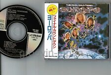 EUROPE The Final Countdown JAPAN CD 3200JPY w/OBI+16-p BOOKLET VDP-1083 Free S&H