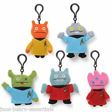 Gund - Ugly Dolls - Star Trek Collection - Ox as Spock - Backpack Clip