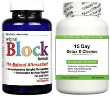 Fat blocker Detox Colon Cleanse Pillole Dimagranti Perdita di peso compresse DIMAGRANTI Cleanser