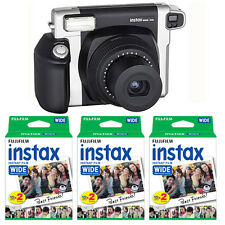 Fujifilm Fuji Instax 300 Wide Format Instant Film Camera + 60 Prints Wide Film