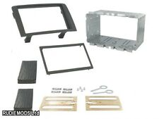 Fiat Idea 05 on Black Double Din Car Stereo Fitting Kit Facia CT23FT04