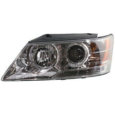 2009-2010 FITS HYUNDAI SONATA LH HALOGEN HEAD LIGHT ASSEMBLY