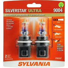 Sylvania Silverstar Ultra 9004SU/2 Headlight Bulbs - Pair