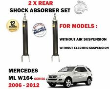 FOR MERCEDES W164 ML280 ML300 ML320 ML350 CDI 2005-  2X REAR SHOCK ABSORBER SET