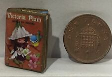 Dolls House Miniature Victoria Plum Book 1:12th scale l - Pictured