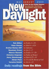 New Daylight: May to August 2000: Daily Readings from the Bible,GOOD Book