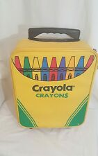 Rare Vintage Crayola Crayons Kids Travel Carry On Suit Case!