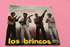 """SOLO COPERTINA LOS BRINCOS 7"""" MEJOR ORIG SPAIN 1966 EX"""