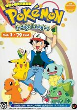 Pokemon Indigo League (Season 1) | TV Series | DVD | English Audio