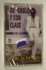 De Pueblo Y Con Clase by Jose Alberto (1994) (Audio Cassette Sealed)