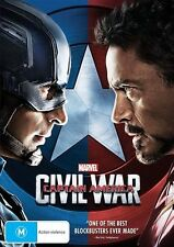 Captain America - Civil War (DVD, 2016)
