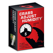 Crabs Adjust Humidity Vol. 5 (CAH - Cards Against Humanity Expansion)